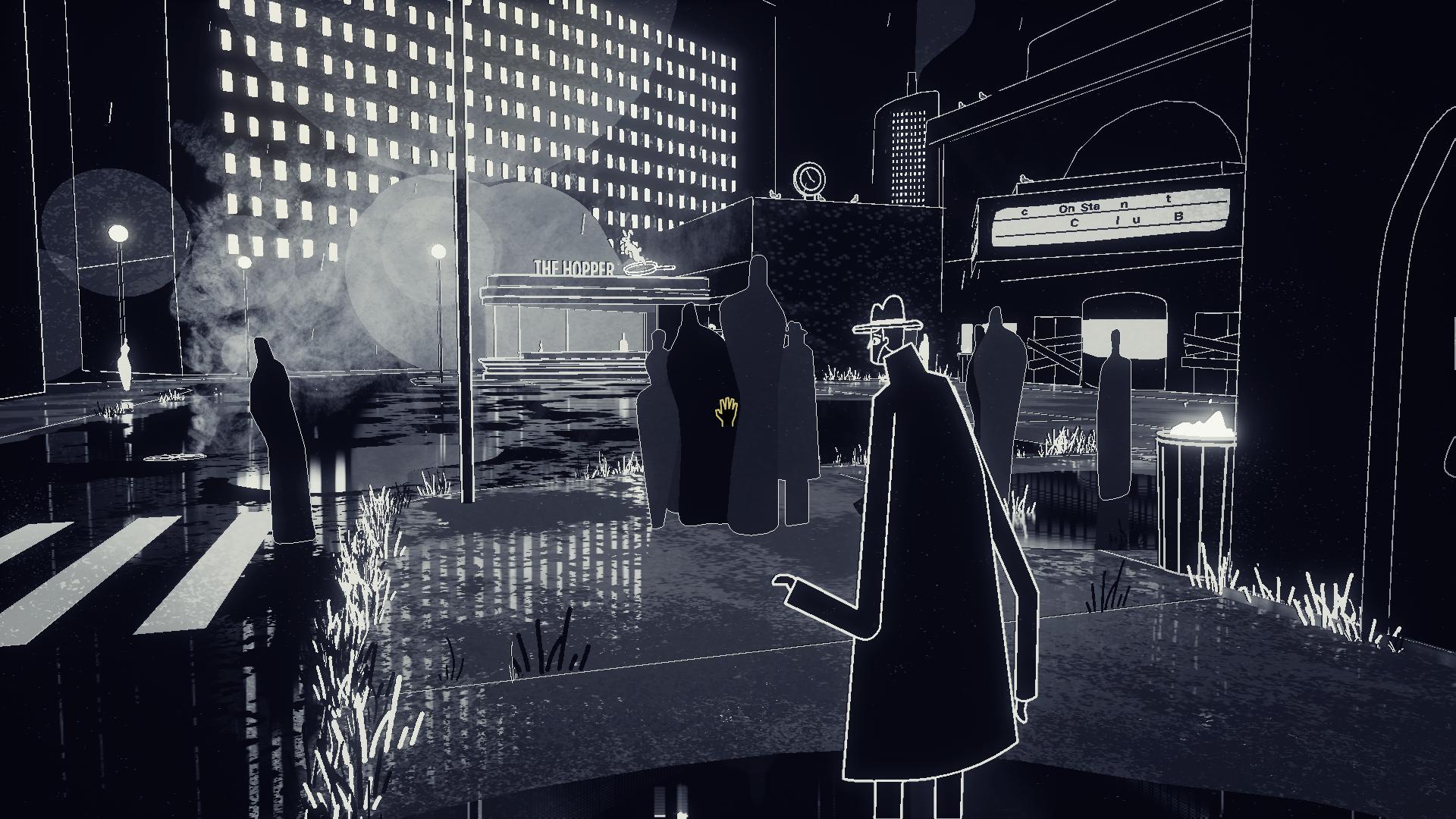 Genesis Noir game screenshot, Street