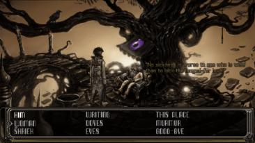 Strangeland game screenshot, Dialogue