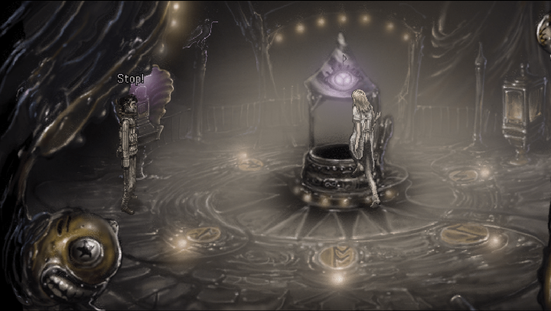 Strangeland game screenshot, Woman
