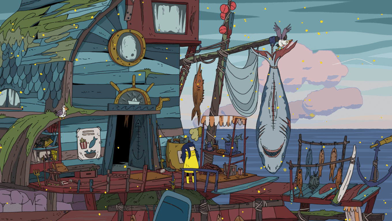 Minute of Islands game screenshot, Boat