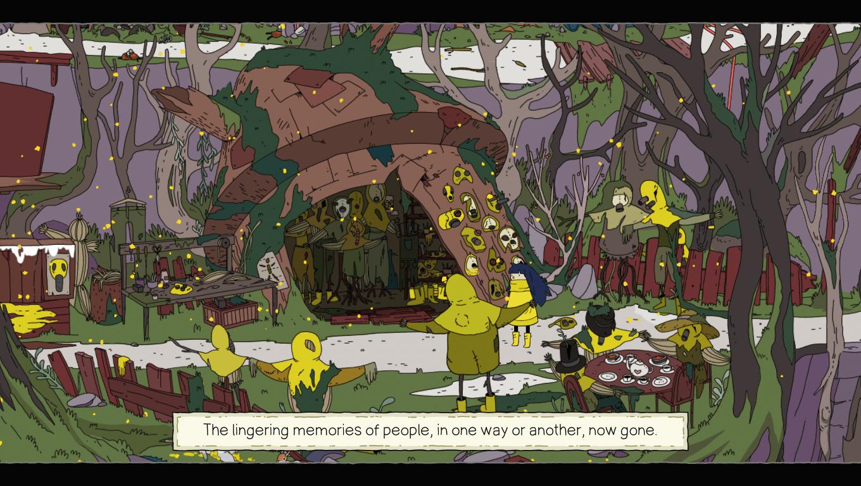 Minute of Islands game screenshot, Masks